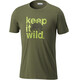Columbia Miller Valley t-shirt Heren olijf